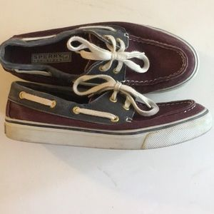 Sperry cotton topsiders
